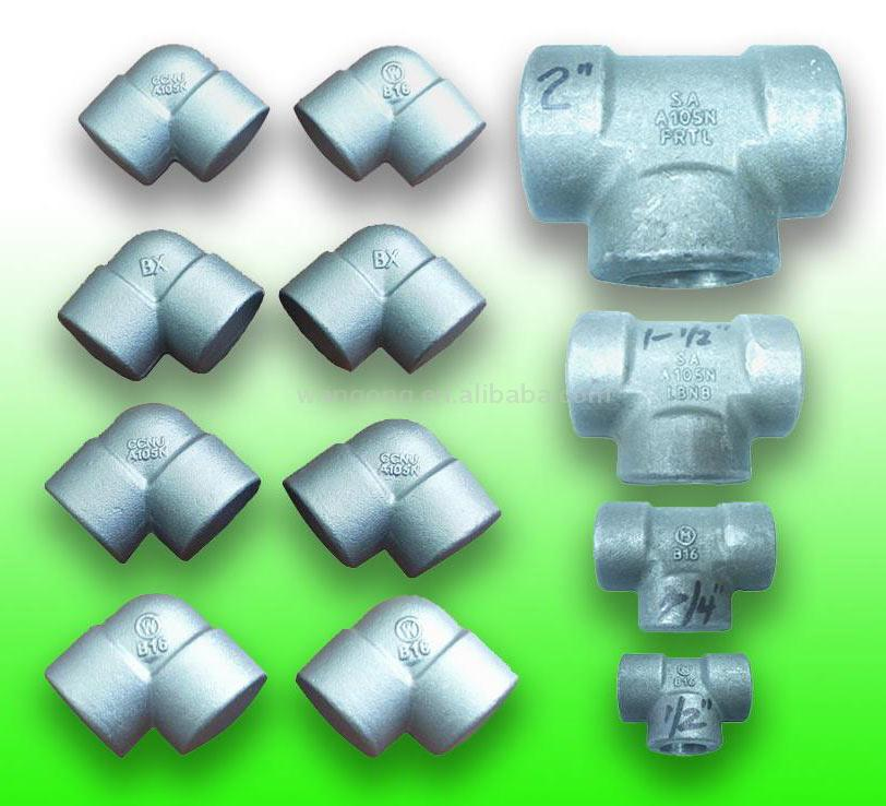 Forged Pipe Fittings (Кованая арматура Трубы)