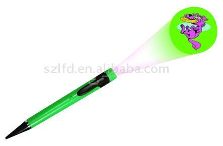 Plastic Projector Pen
