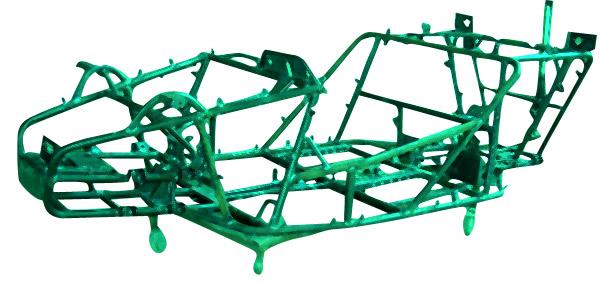 Go Kart Main Frame (Go Kart Главная рама)