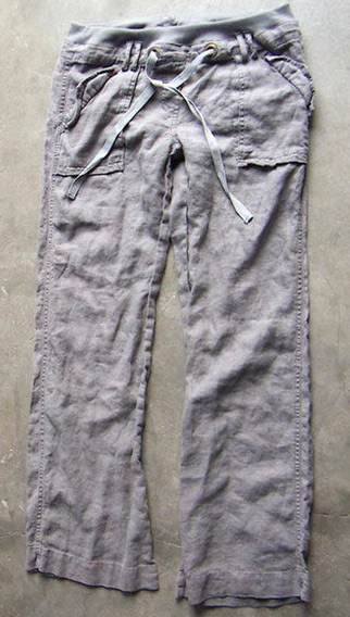 Linen/Cotton Washed Pants