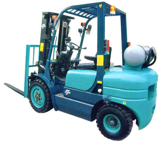 LPG Forklift with CE Approved Engine