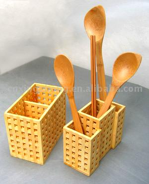 Bamboo Scoop and Storage (Scoop de bambou et de stockage)