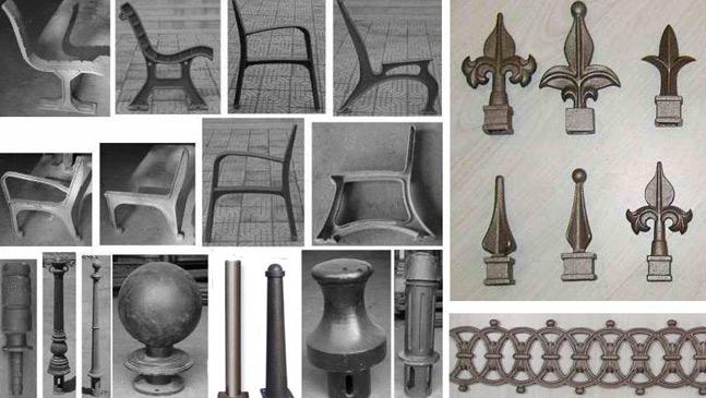 Bench Part, Bollard & Fencing Decoration (Скамья часть, Боллард & фехтованию Украшения)