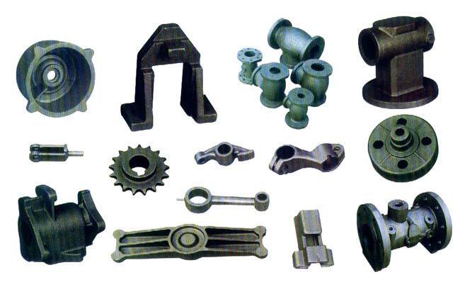 Cast & Forged Parts (В ролях & штампованных деталей)