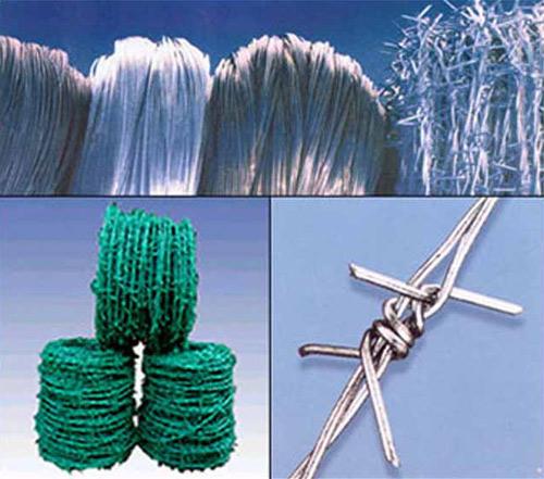 Barbed Razor Wire, PVC Wire & Black Wire