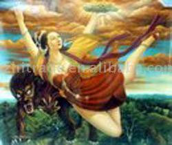 Oil Painting (Bullfight) (Масляной живописи (Коррида))