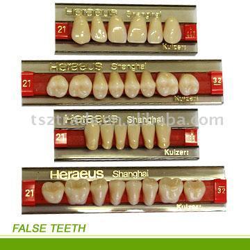 Synthetic Resin Teeth (Синтетическая смола зубов)