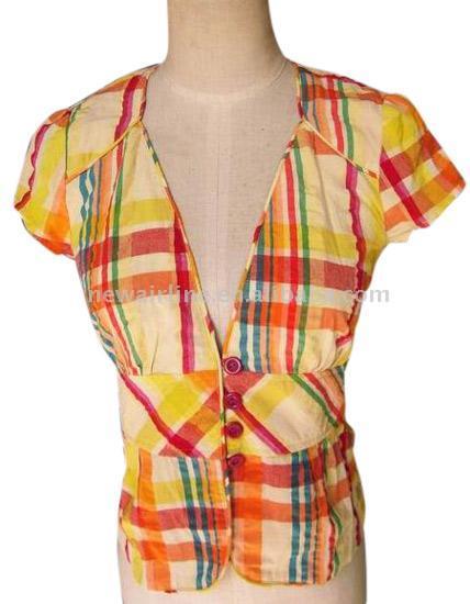 клетчатые рубашки женские.