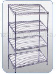 Chrome Steel Wire Shelf (Хром Стальная проволока шельфа)