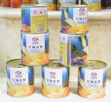 Canned Fruit - Mixed