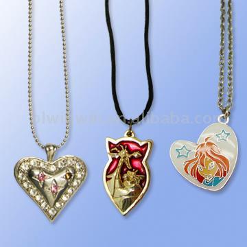 Necklace Pendant Chain (Колье Кулон Сеть)