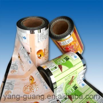 Metallized Foil Packaging Film (Металлизированной фольгой упаковочной пленки)
