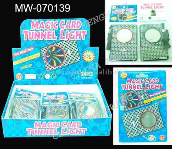 Magic Card Tunnel Light Card