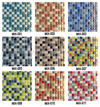 glass tile mosaic. Glass Mosaic Tile ( Glass