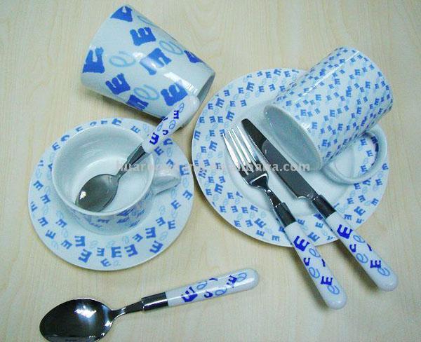 Porcelain Dinner Set (Фарфоровые Dinner Set)
