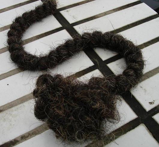 Spun Hair Fibre (Spun Волосы Fibre)