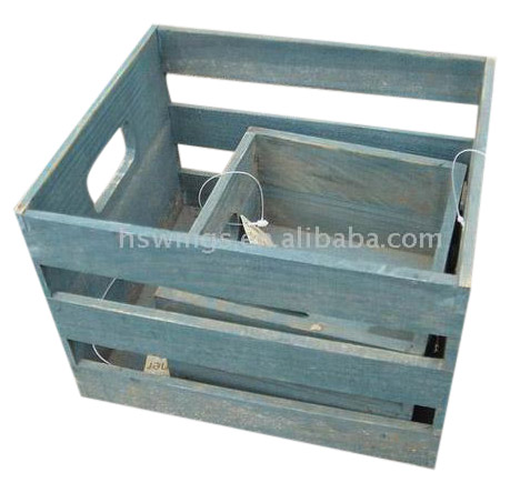 Wooden Container (Деревянный контейнер)