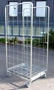 Two Wire Mesh Roll Container (Два Wire Mesh Роликовый контейнер)