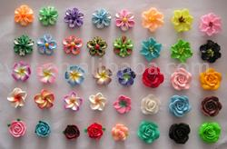 Fimo Flower Beads (Fimo Flower Beads)