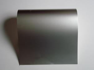 Matte Silvery Aluminum Foil Laminated Paper (Матовая серебристая алюминиевая фольга ламинированная бумага)