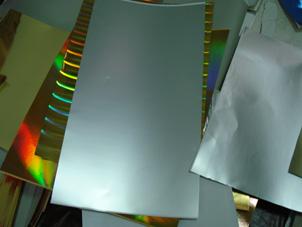 Silvery Aluminum Foil Laminated Paperboard (Gloss Face) (Серебристый алюминиевый пленкой картона (Gloss F e))