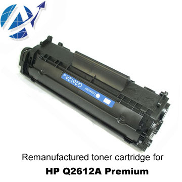 Remanufactured Toner Cartridge for HP Q2612A Premium (Реконструированный Картридж HP Q2612A Premium)