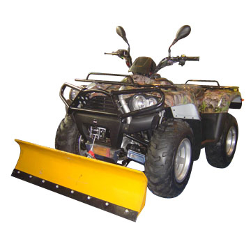 400cc 4x4 ATV with Snowplow (EEC and EPA Approval) (400cc 4x4 ATV с Snowplow (ЕЭС и утверждении EPA))