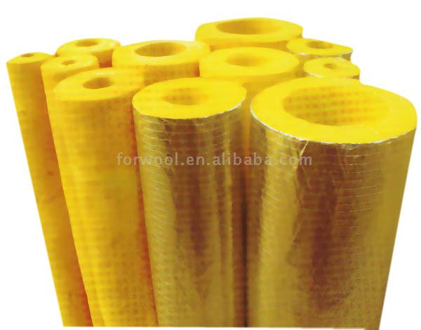 Glass Wool Pipe Section