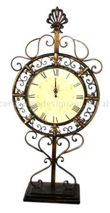 Metal Standing Clock (Металл Постоянный часов)