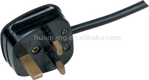 UK Type Plug with Power Cable