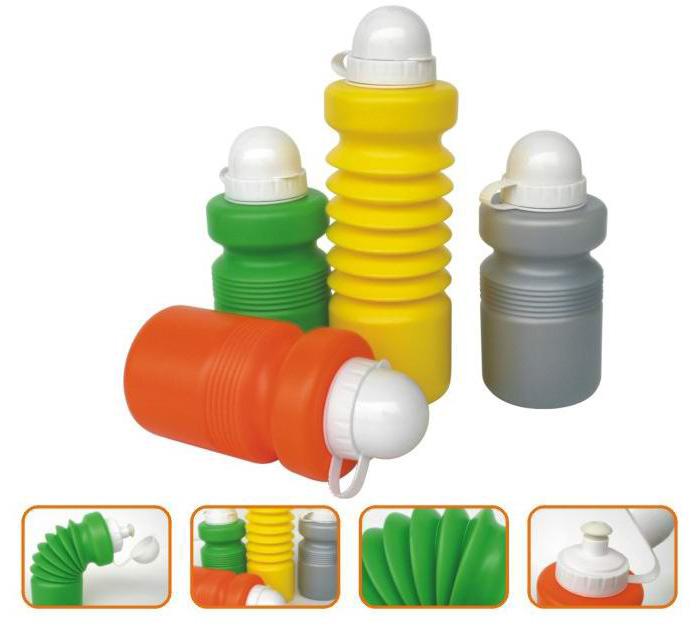 Foldable Water Bottle, Foldable Sports Bottle (Складной бутылку воды, складные Спорт бутылки)
