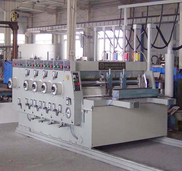 Small Type 4-Color Printing Slotter ( Small Type 4-Color Printing Slotter)