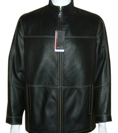 leather jacket men. Men`s Leather Jacket ( Men`s