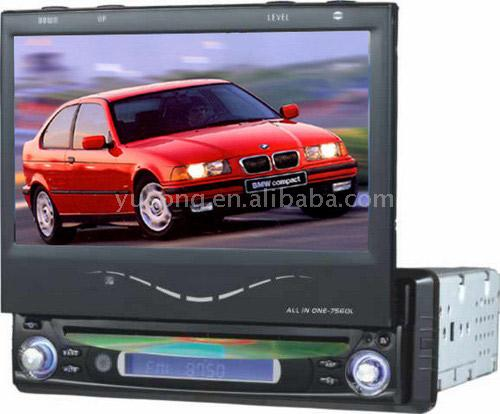 "7"" Car In-Dash 1-DIN MP3 DVD Player (7 ""Car-Даш В 1-DIN DVD-проигрыватель MP3)"