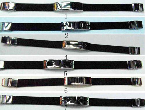 Silicon & Steel Bracelet (Silicon & Стальной браслет)