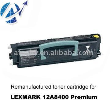 Remanufactured Toner Cartridge Lexmark 12A8400 Premium (Remanufactured Toner Lexmark 12A8400 Premium)