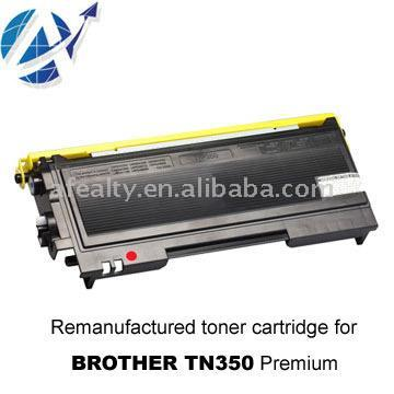 Brother TN350 Remanufactured Toner Cartridge (Brother TN350 Toner Refill)