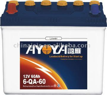 Dry Charged Lead Acid Battery