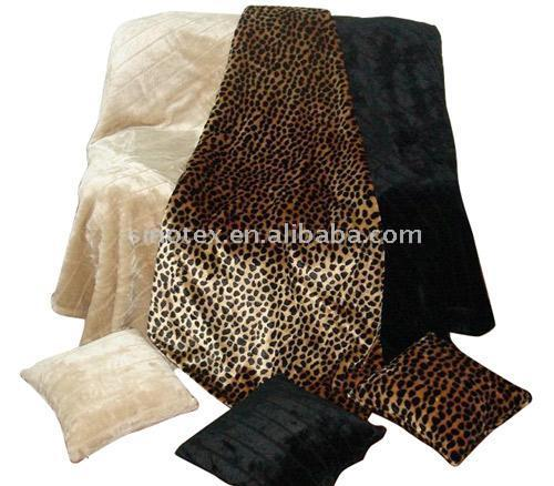 Fake Fur Printed Decke (Fake Fur Printed Decke)