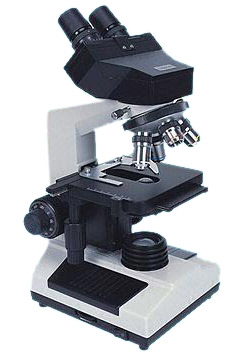 High-Grade Microscope with Binocular Eyepieces