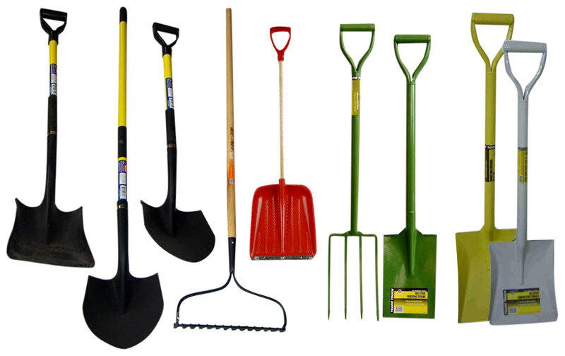 Shovel, Fork, Rakes (Лопаты, вилки, грабли)