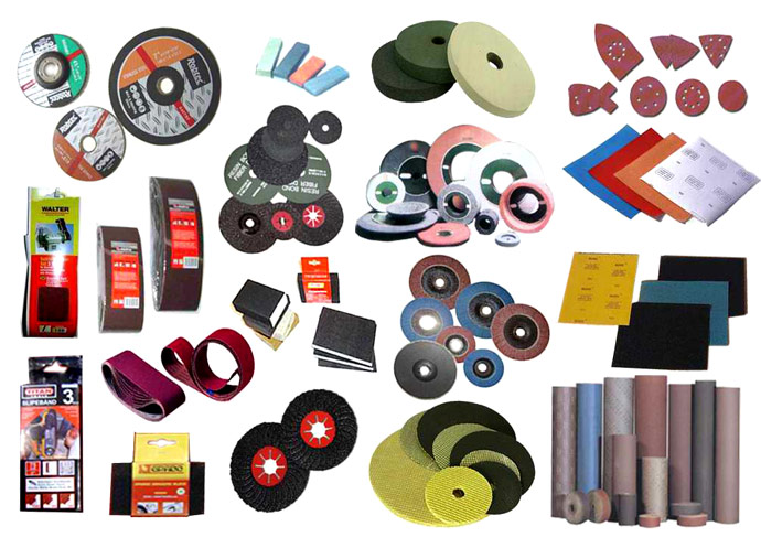 Sand Paper, Grinding Wheel & Abrasive Cloth Roll