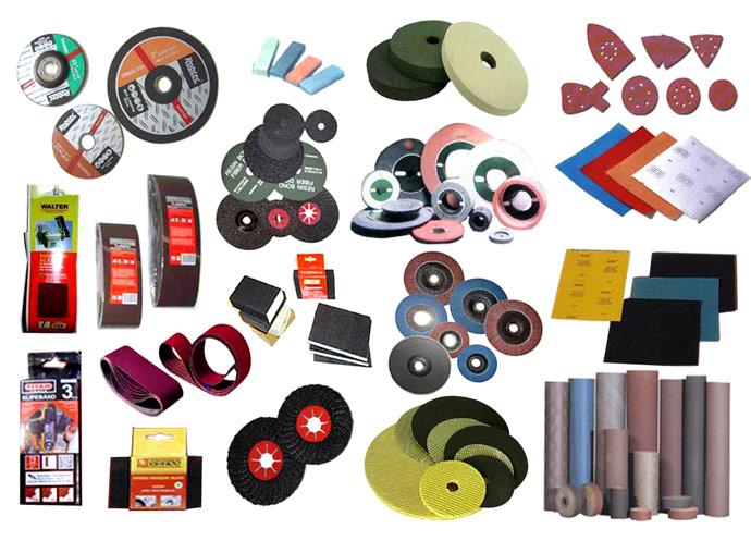 Sand Paper, Grinding Wheel & Abrasive Cloth Roll (Наждачная бумага, шлифовальные абразивные Колесо & Cloth Roll)