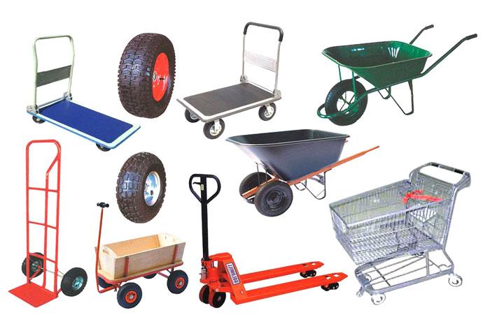 Hand Truck, Trolley & Wheel Barrow
