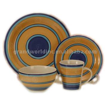Stoneware Ceramic Dinner Set (Stoneware Керамическая Dinner Set)