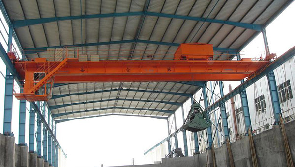 Overhead Crane with Grab (Мостовой кран с Grab)