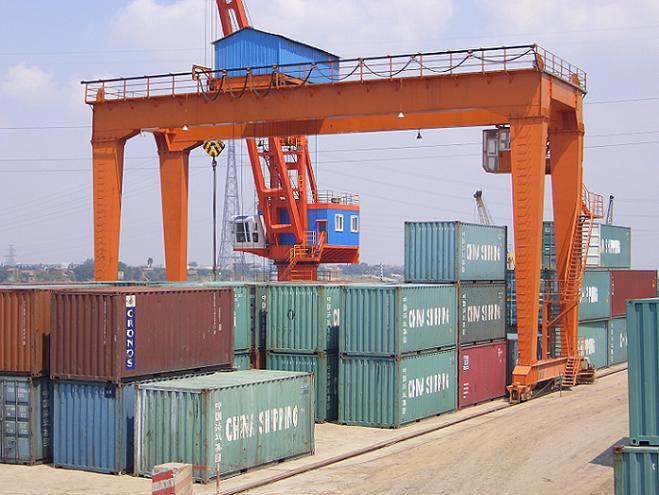 JMQ Container Crane (JMQ контейнерный кран)