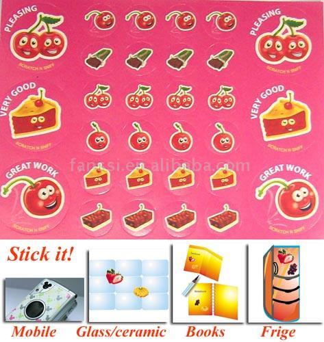 Scratch N Sniff-Cherry (Scratch N Sniff-вишневый)