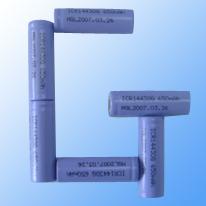 650mAh/3.7V Lithium Cylindrical Battery (650mAh/3.7V литиевых аккумуляторов Цилиндрические)