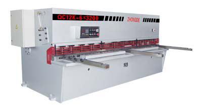 QC12K CNC Plate Shears (QC12K ЧПУ Plate Ножницы)